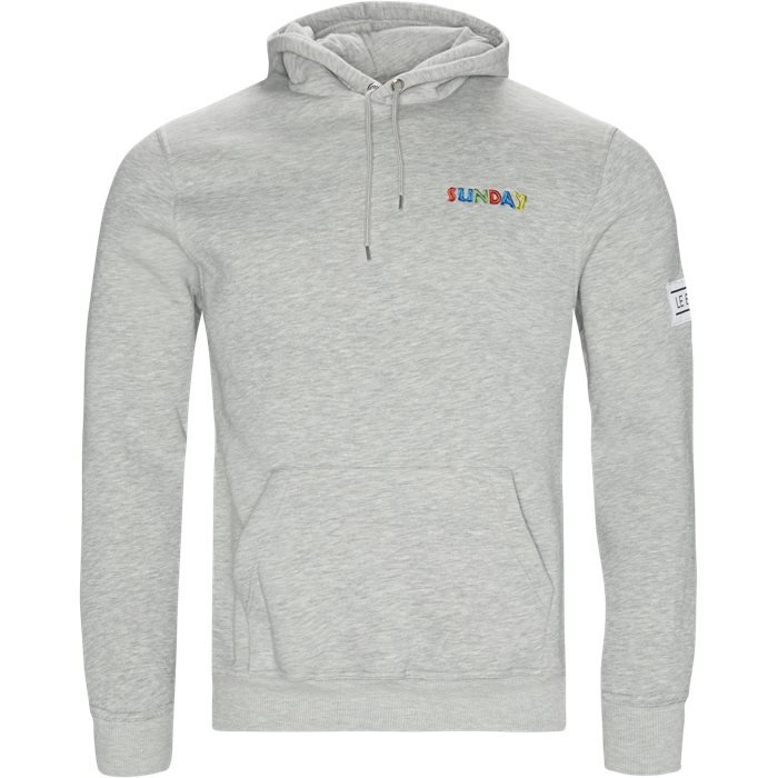 Ghana SUNDAY Hoodie - Sweatshirts - Regular - Grå